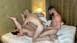 Gia Paige's First Bisexual Mmf Threesome With Johnny Hill