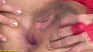 Crazy 85 Years Old Grandmother First Anal Sex