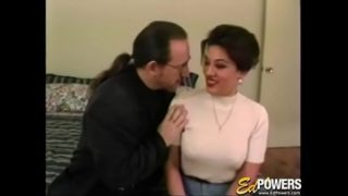 Handsome Vintage Girl is Eager to Bounce on Rock Solid Cock