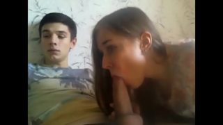 Stepbro With Unreal Big Dick Cums Inside His Twisted 18 Years Old Stepsis on Cam