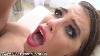 Adriana Showers Them With Squirts While Getting Assfucked!